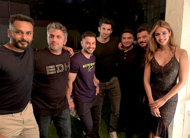 Malang Disha Patani Anil Kapoor Aditya Roy Kapur Party As The Film Wraps Bollywood News Bollywood Hungama