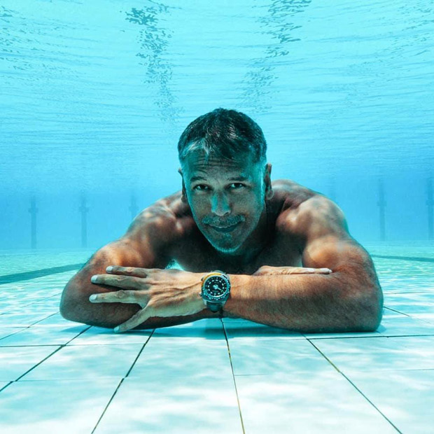 Milind Soman Runs Underwater Carrying A 12-kg Backpack, See Photo