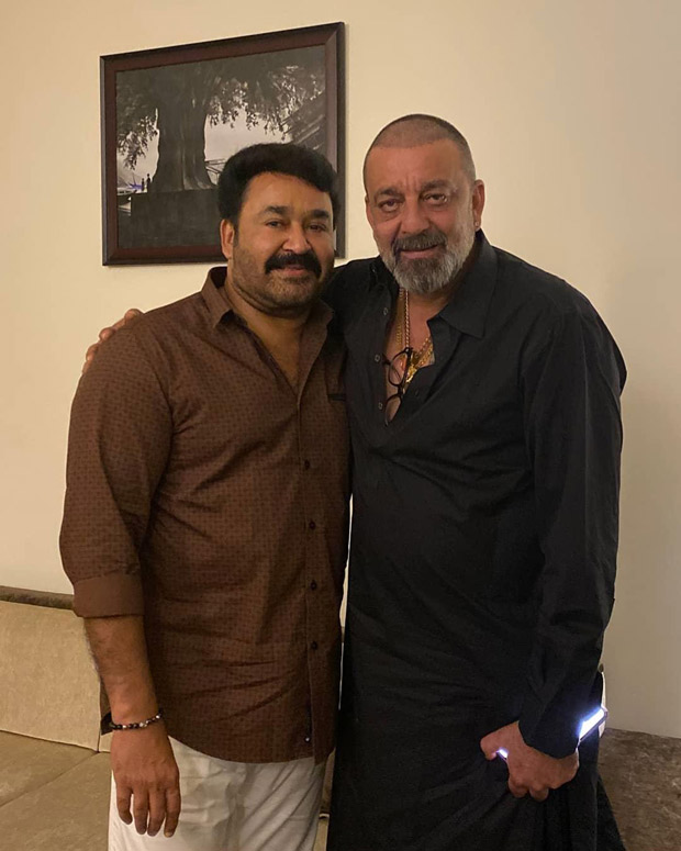 Sanjay Dutt Meets 'big Brother' Mohanlal, Latter Shares A Picture