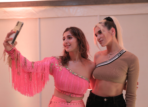 Dhvani Bhanushali shares stage with global icons Katy Perry and Dua Lipa!