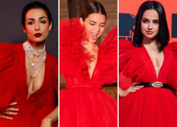 Fashion Face Off: When Malaika Arora, Kendall Jenner & Becky G wore the same Giambattista Valli couture