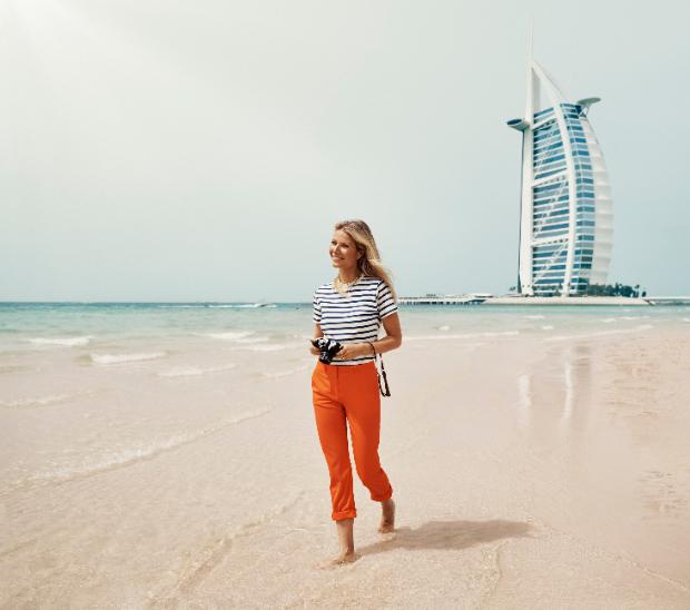 Gwyneth Paltrow, Kate Hudson, and Zoe Saldana explore Dubai in stunning new video