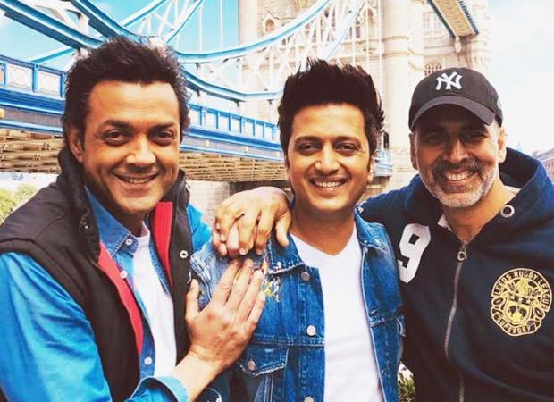 Housefull 4: Akshay Kumar, Riteish Deshmukh, And Bobby Deol Dance On Bala In This Bts Video And It Is Hilarious