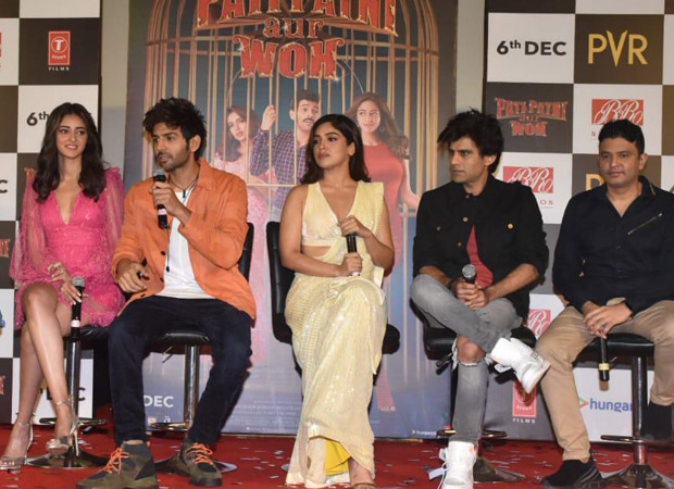 Pati Patni Aur Woh trailer launch: Here's why Kartik Aaryan and Bhumi Pednekar did not watch the original Pati Patni Aur Woh before filming the remake