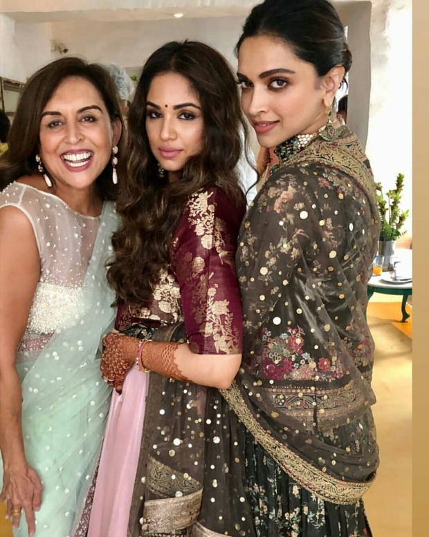 INSIDE PHOTOS & VIDEOS: Deepika Padukone and Ranveer Singh attend a friend's wedding in Bangalore