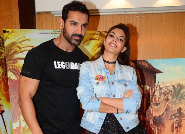 Jacqueline Fernandez confirms a film with John Abraham and Rakul Preet Singh