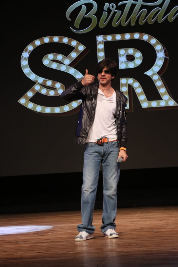Shah Rukh Khan celebrates birthday with fans, confirms he'll announce his next film in couple of months