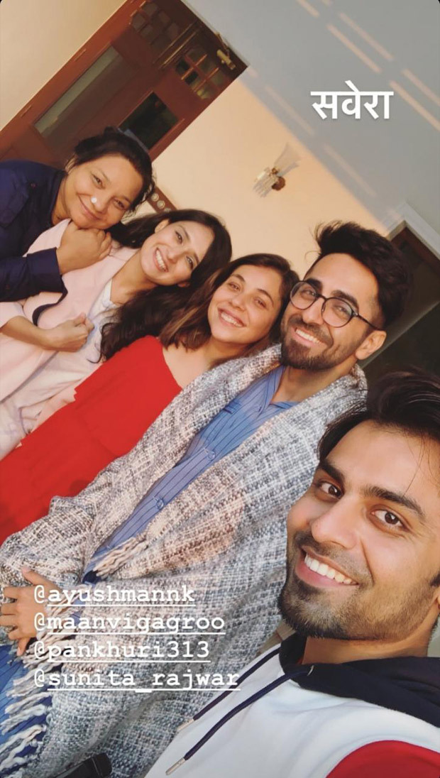 Shubh Mangal Zyada Saavdhan: Ayushmann Khurrana And Team Wrap Up Banaras Schedule