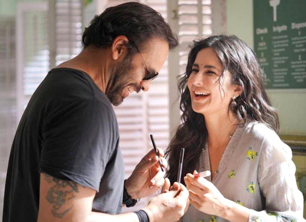 Sooryavanshi: Katrina Kaif And Rohit Shetty Look As Happy As Daises In This Candid Bts Picture