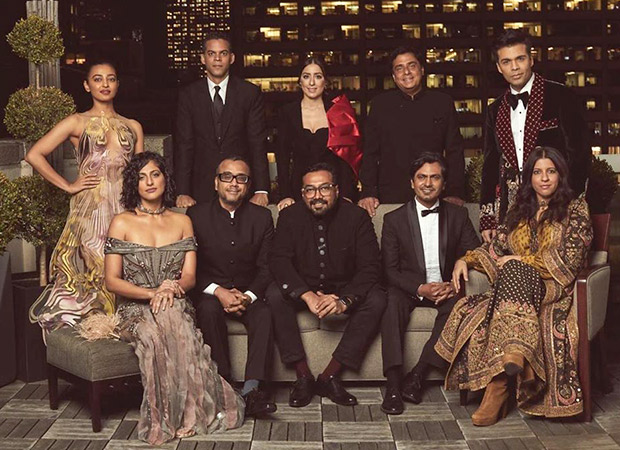 Team Lust Stories and Sacred Games look dapper as they pose before heading to the International Emmys, 2019!