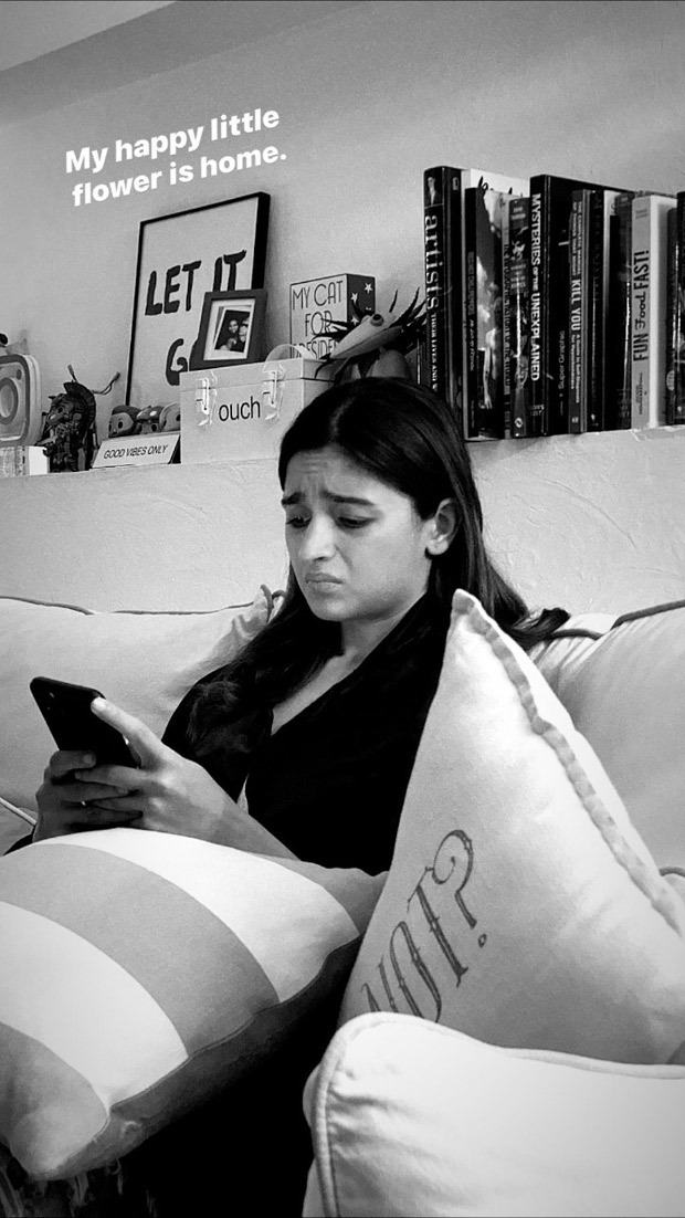 SISTER LOVE: Shaheen Bhatt posts a picture of Alia Bhatt looking confused, addresses her as little flower