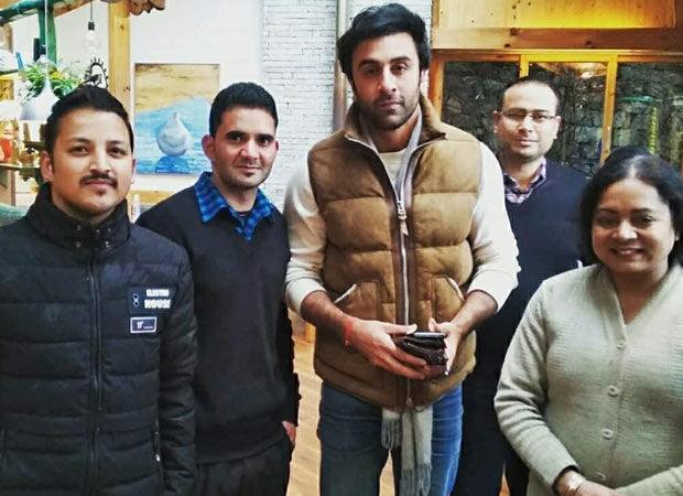 Brahmastra: Ranbir Kapoor is back to work after sustaining injury, poses with fans in Manali