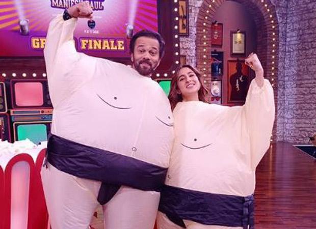 Rohit Shetty And Sara Ali Khan Go From 'simmba To Sumo'
