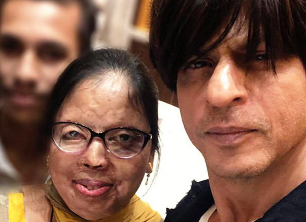 Shah Rukh Khan sends wishes to a newlywed acid attack survivor, and the internet is all hearts