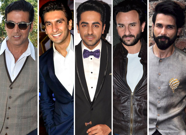 2019Recap: Akshay Kumar, Ranveer Singh, Ayushmann Khurrana amongst top 5  actors this year : Bollywood News - Bollywood Hungama