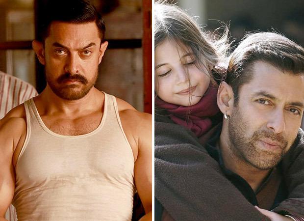 Aamir Khan's Dangal biggest blockbuster of decade, Salman Khan's Bajrangi Bhaijaan  bags second place