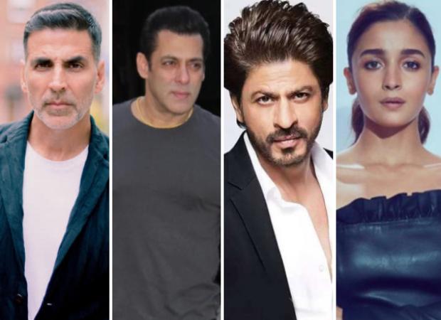 Akshay Kumar, Salman Khan, Shah Rukh Khan, Alia Bhatt earned huge in 2019, amongst the top 10 in Forbes India's Celebrity 100 list