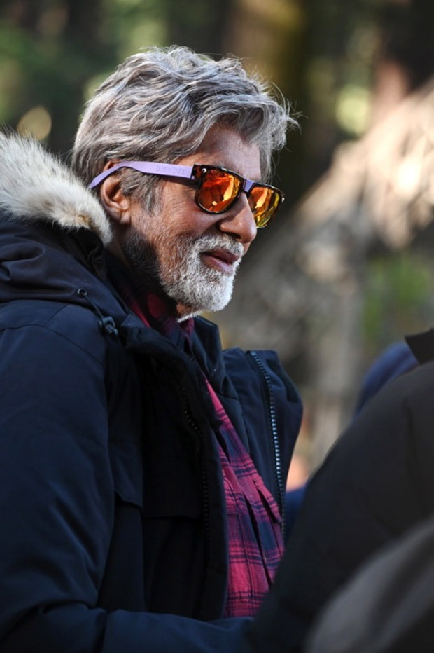 Brahmastra: Amitabh Bachchan shoots in minus three degree weather with Ranbir Kapoor in Manali
