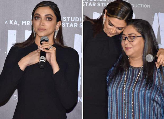 Chhapaak Trailer Launch: Deepika Padukone left in tears as she talks about her impactful role