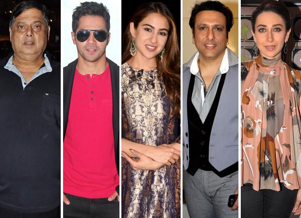 David Dhawan on Varun Dhawan and Sara Ali Khan recreating Govinda - Karisma Kapoor magic