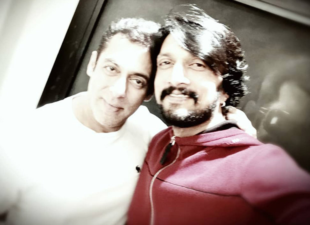 Salman Khan's special gift to his Dabangg 3 co-star Kichcha Sudeep will melt your heart
