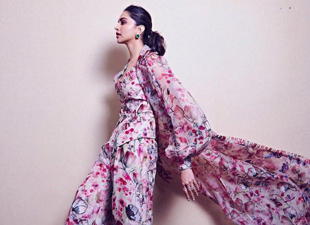 Flower Power Deepika Padukone looks like a goddess in this Anamika Khanna outfit