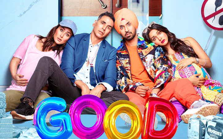 Akshay Kumar, Kareena Kapoor Khan, Diljit Dosanjh and Kiara Advani starrer GOOD NEWWZ's Smart writing, fantastic humour and heartfelt emotions are the three pillars of this well-made film.
