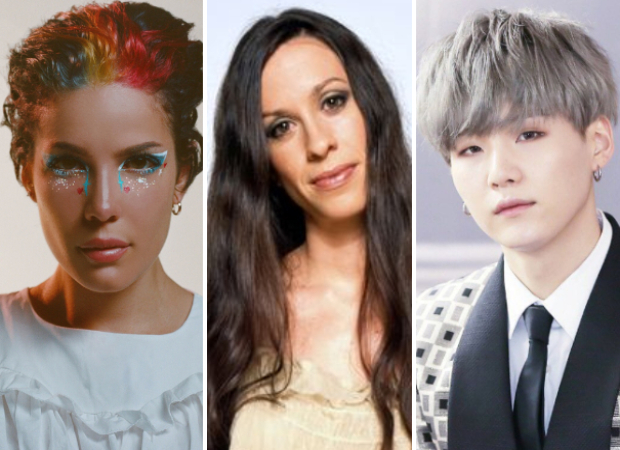 Halsey reveals her album Manic track list and it includes collaborations with Alanis Morissette and BTS' Suga