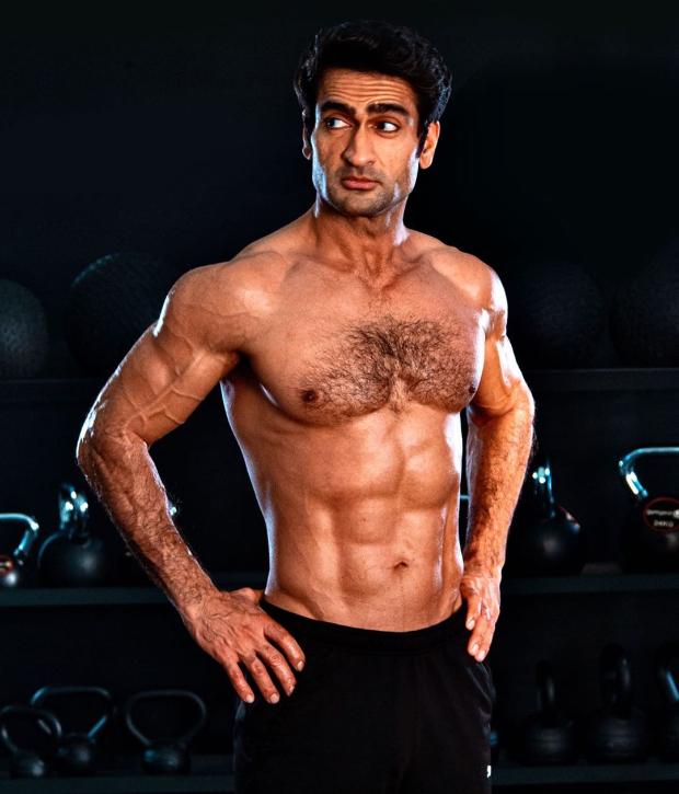 Kumail Nanjiani flaunts his ab-tastic body, undergoes insane transformation for Marvel's The Eternals