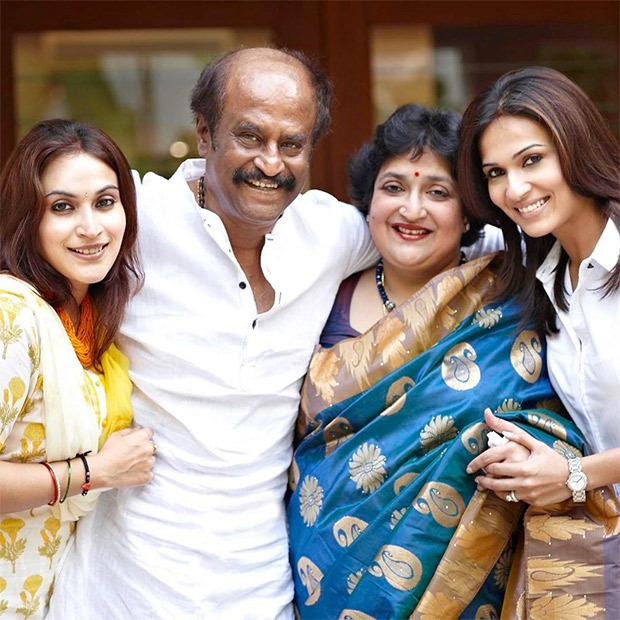 Rajinikanth's Daughters Aishwarya And Soundarya Wish Their