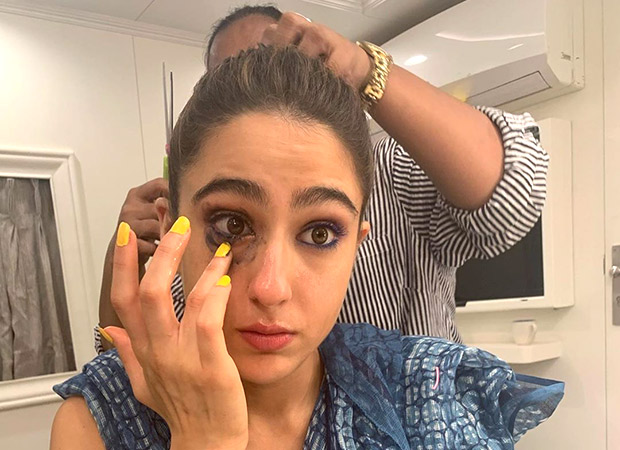 Sara Ali Khan wraps the schedule for Coolie No. 1 with the most realistic picture of all times!