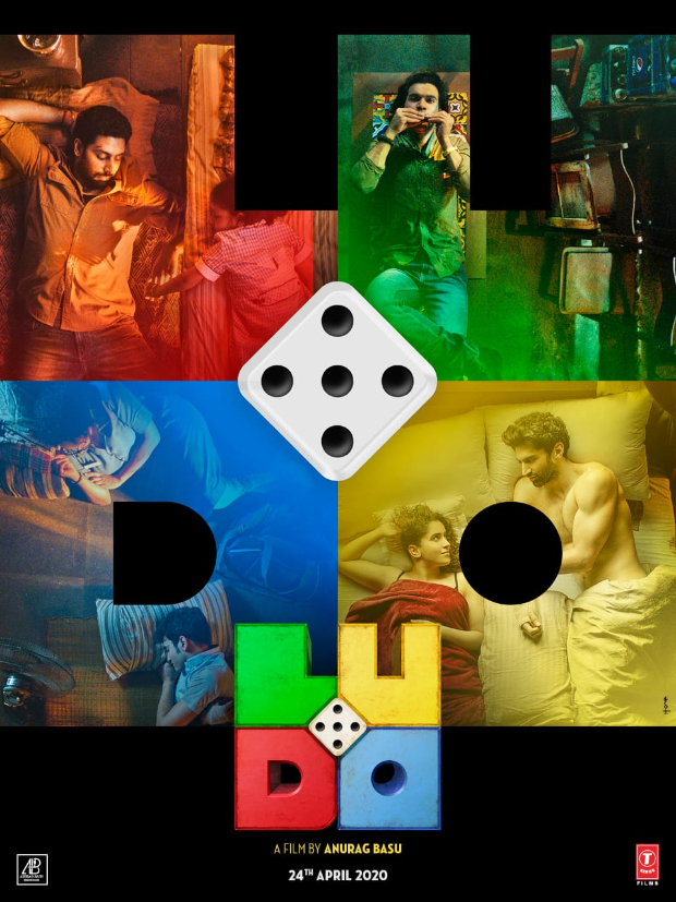 T-Series & Anurag Basus next titled Ludo starring Abhishek Bachchan, Aditya Roy Kapur to release on April 24,