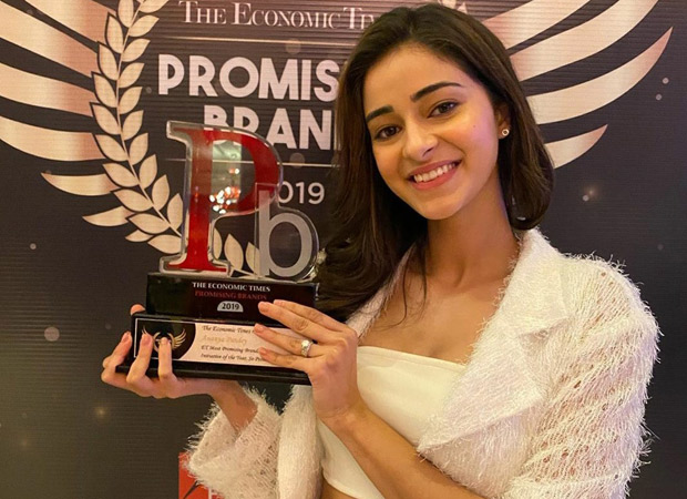 Ananya Panday's So Positive initiative bags an award at The Economic Times Promising Brands 2019