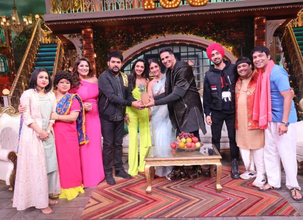 The Kapil Sharma Show scores a century; celebrates with the cast of Good Newwz