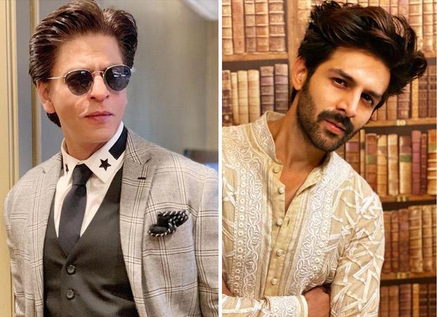 Kartik Aaryan reveals how Shah Rukh Khan inspired him to become an actor