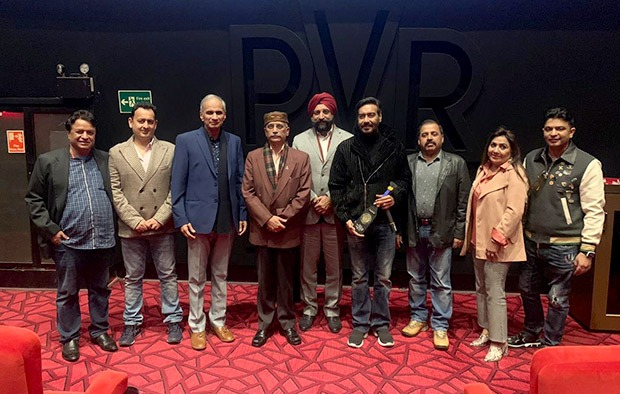 Tanhaji: The Unsung Warrior: Ajay Devgn holds a special screening for Army, Navy and Chief of military