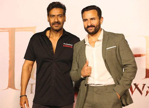 Ajay Devgn talks about working with Saif Ali Khan in Tanhaji – The Unsung Warrior