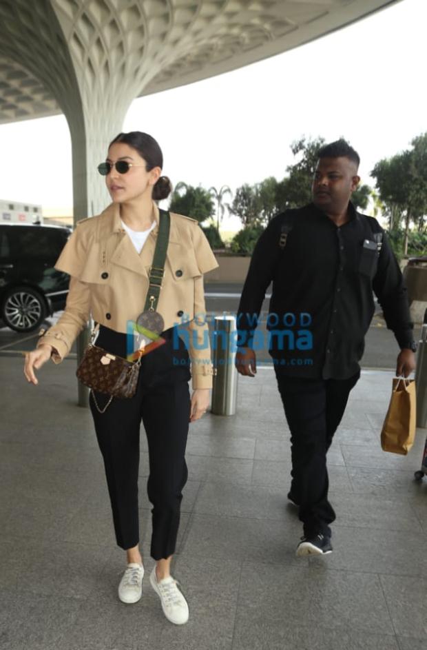 Anushka Sharma sports Rs. 1.5 lakhs Louis Vuitton cross body bag