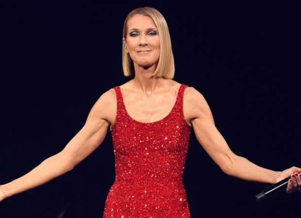 Celine Dion gets emotional as she performs on stage in Miami few hours after her mothers