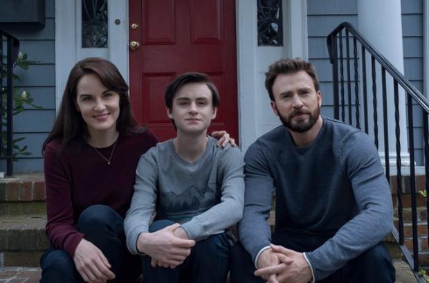 Chris Evans, Michelle Dockery and Jaeden Martell star in upcoming thriller series Defending Jacob