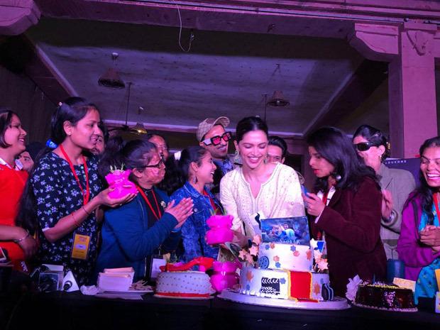 Deepika Padukone celebrates her birthday with Ranveer Singh and acid attack survivors in Lucknow