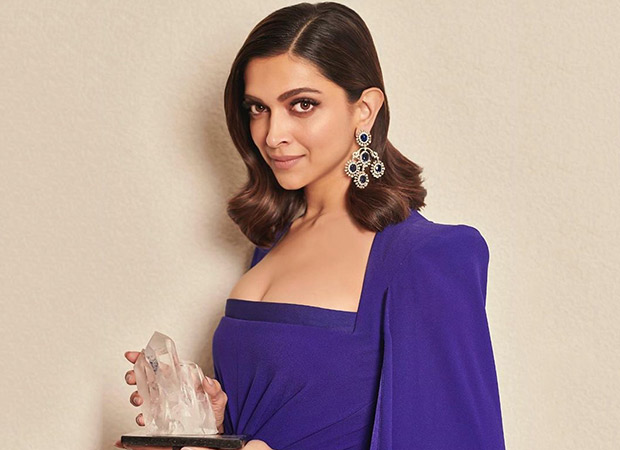 Deepika Padukone expresses gratitude on receiving the Crystal Award 2020 for The Live Love Laugh Foundation