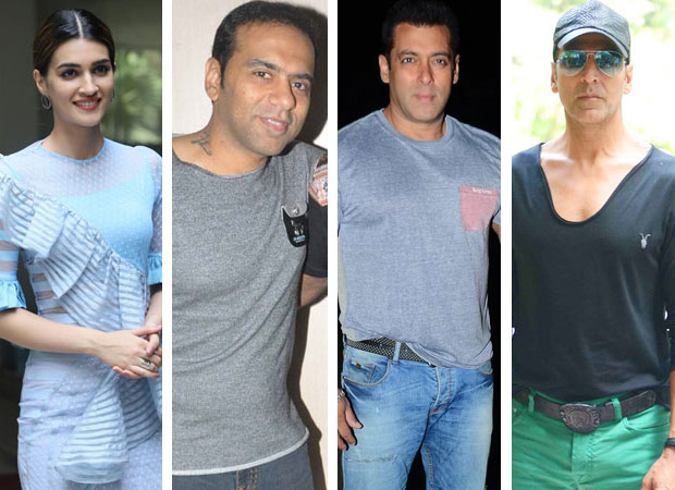 Exclusive In a unique twist Kriti Sanon and Farhad Samji are both part of two different movies – starring Salman Khan and Akshay Kumar feature