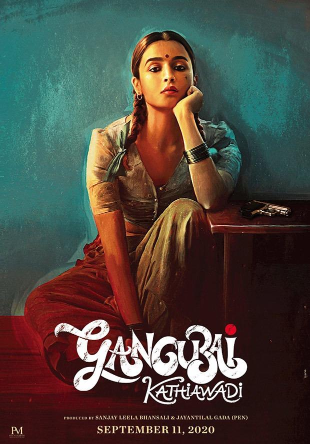 GANGUBAI KATHIAWADI FIRST LOOK - Alia Bhatt looks FIERCE in Sanjay Leela Bhansali's drama