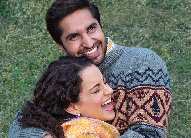 Kangana Ranaut and Jassie Gill look 'oh-so-in-love' in this still from Panga