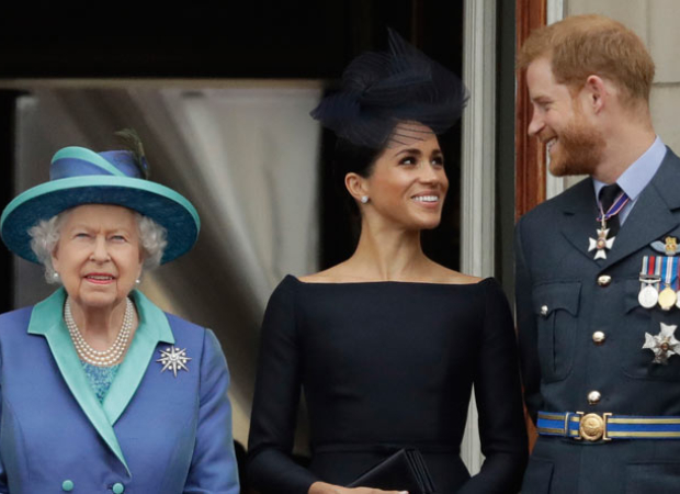 Prince Harry and Meghan Markle will no longer use HRH titles, Queen releases her