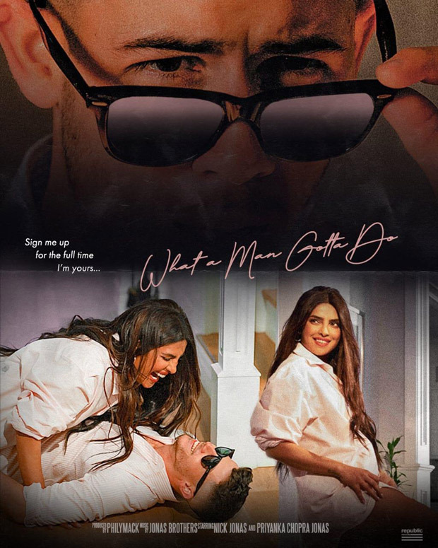 Priyanka Chopra recreates Tom Cruise's Risky Business scene with Nick Jonas for What A Man Gotta Do music video