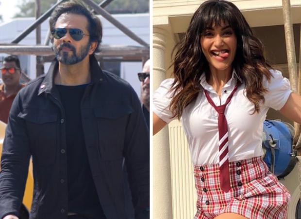 Rohit Shetty and Karishma Tanna shoot for the promo of Khatron Ke Khiladi, complete list of contestants in season 10 revealed
