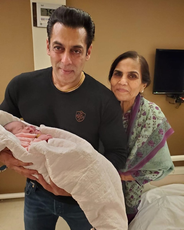Salman Khans adorable photo with niece Ayat, mom Salma Khan wins hearts