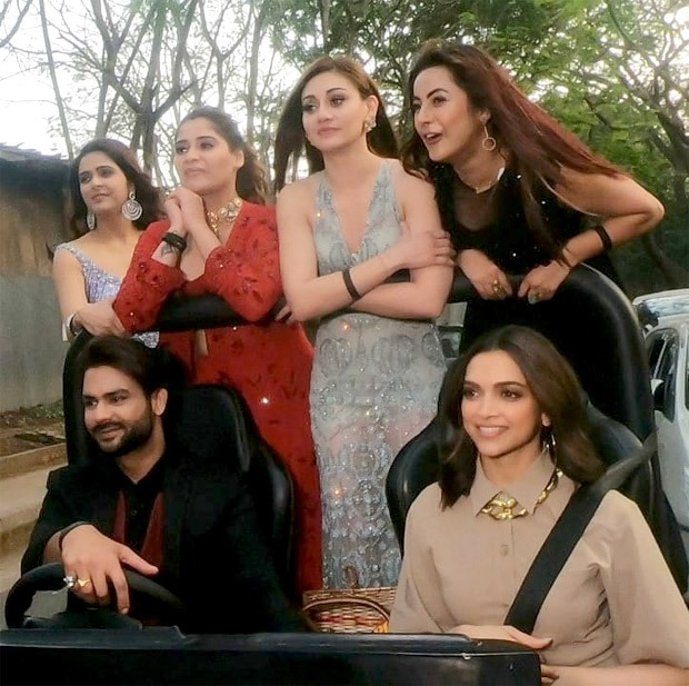 Bigg Boss 13: Deepika Padukone goes out for a ride with the housemates